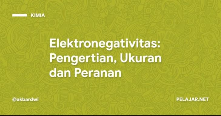 Elektronegativitas