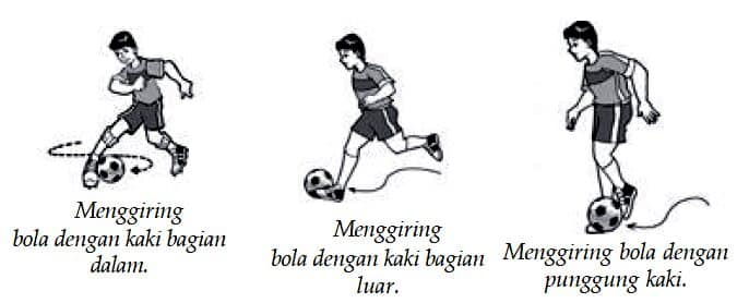 Teknik Menggiring Bola