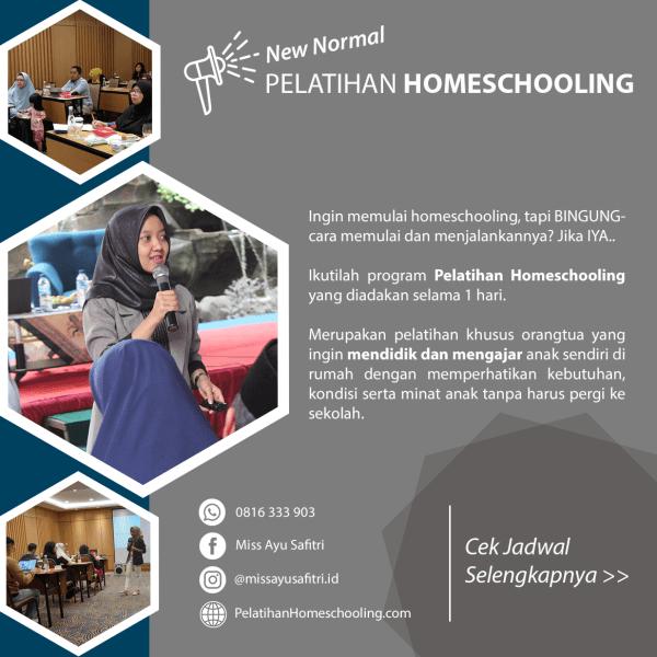 Pelatihan Homeschooling - Miss Ayu Safitri