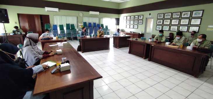 MPS PWM DIY- Lazismu PKU Muhammadiyah Yogyakarta Bahas Kerjasama Program JAMKESAA