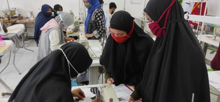 Pelatihan Menjahit Masker untuk Anak Asuh Panti Asuhan Muhammadiyah D.I. Yogyakarta