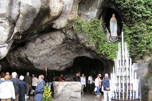 Lourdes en 2018 avec le diocèse