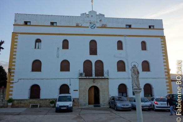 L'albergue se situe au 2e étage du monastère. © Fabienne Bodan