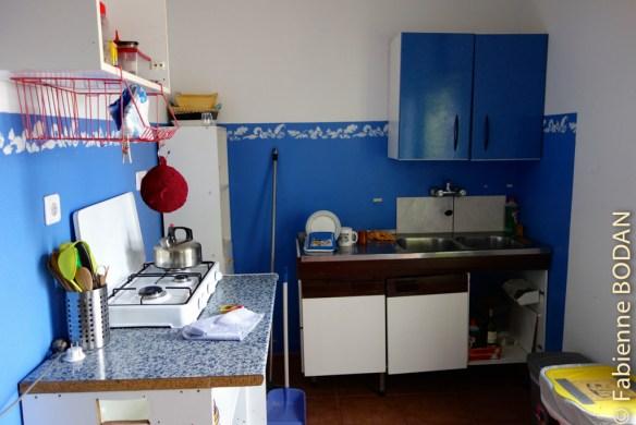 L'espace cuisine © Fabienne Bodan