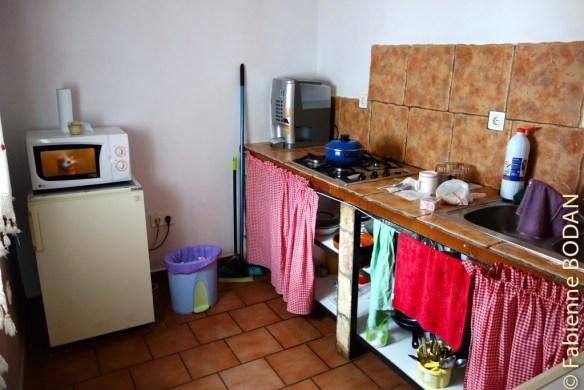...l'espace cuisine...© Fabienne Bodan