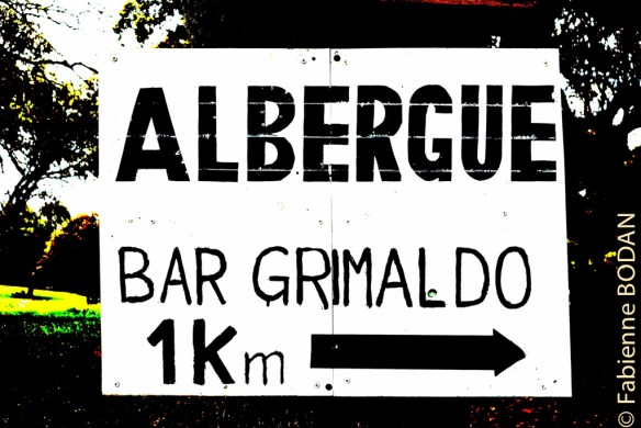 A Grimaldo, il y a une auberge et une casa rural de seulement 3 lits ! © Fabienne Bodan