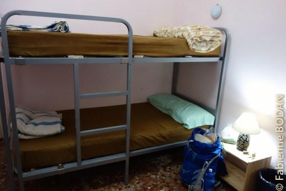 Ici encore, une auberge de petite taille avec des chambres de 2, 3, 4 personnes. © Fabienne Bodan