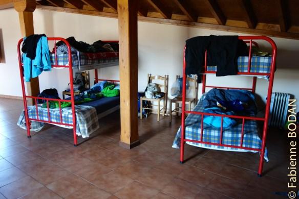 L'auberge compte deux dortoirs...© Fabienne Bodan