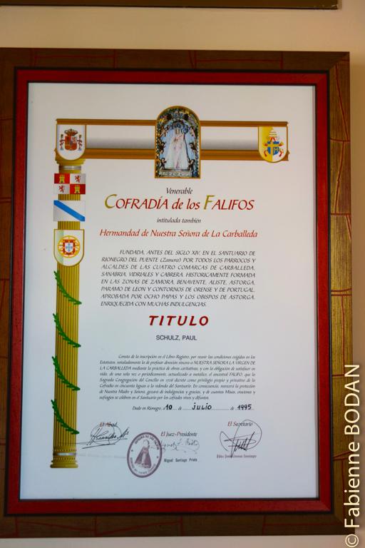 L'auberge est gérée par la Cofradia de los Falifos, dans l'antique hôpital pour pèlerins du village. © Fabienne Bodan
