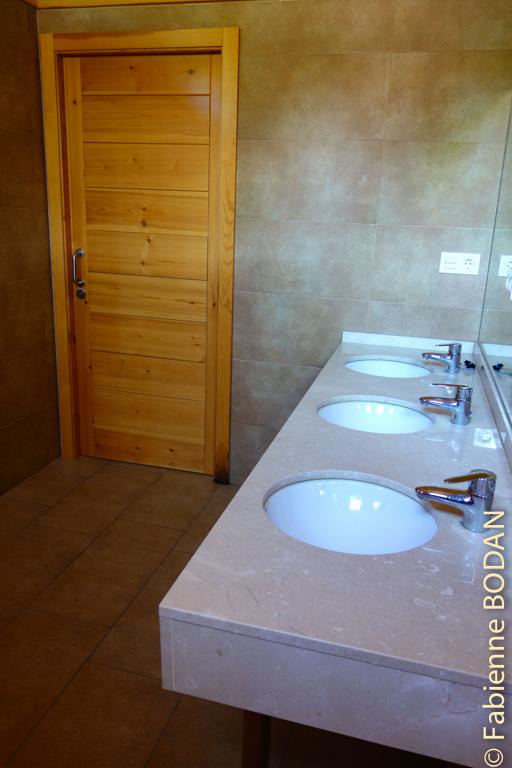 La salle de bains...© Fabienne Bodan