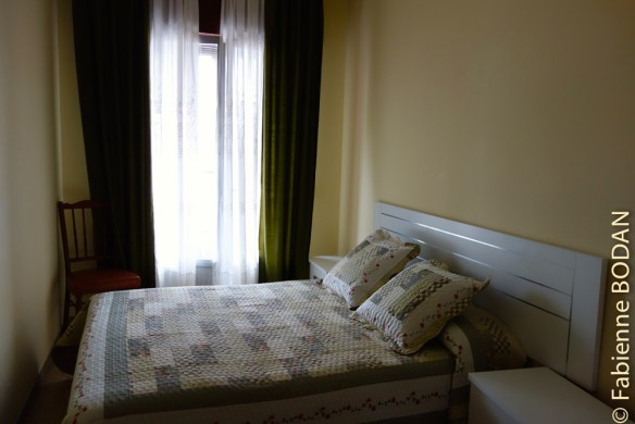 La chambre double...avec une petite terrasse...© Fabienne Bodan