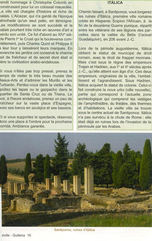 """Guide Lepère """"Sur le chemin de Saint Jacques de Compostelle, La Via de la Plata et le camino sanabrés"""", Edition ? (3), exemple de présentation d'une étape (cinquième page)."""