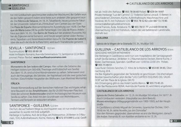Guide (en allemand) de l'association Paderborn sur la Via de la Plata, exemple de présentation.