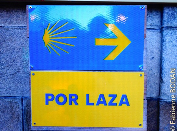 A A Gudiña, vous avez deux options : poursuivre par Laza ou par Verin. © Fabienne Bodan