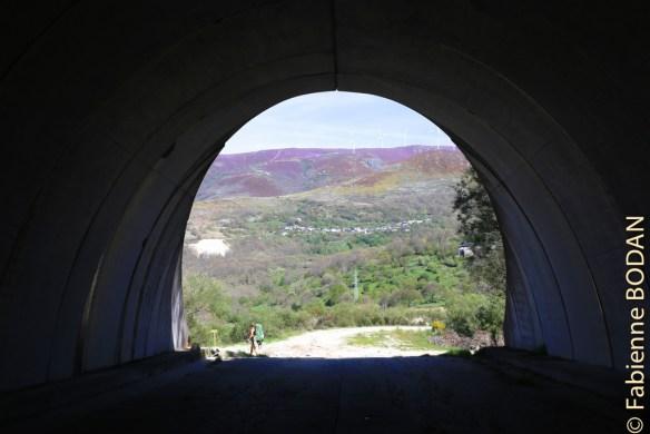 Les premières vues de la montagne toute de violet vêtue © Fabienne Bodan