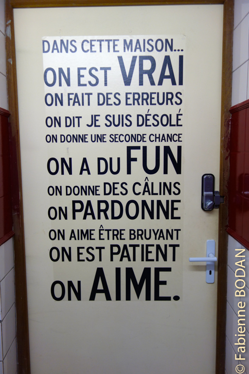 Et à l'intérieur, toute une philosophie de l'accueil...© Fabienne Bodan