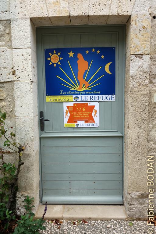 En face de l'office du tourisme et de la collégiale de la Romieu, se situe Le Refuge, un petit gîte de 6 places...© Fabienne Bodan