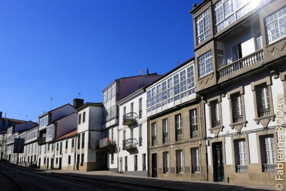 En flânant dans les ruelles de la capitale galicienne © Fabienne Bodan