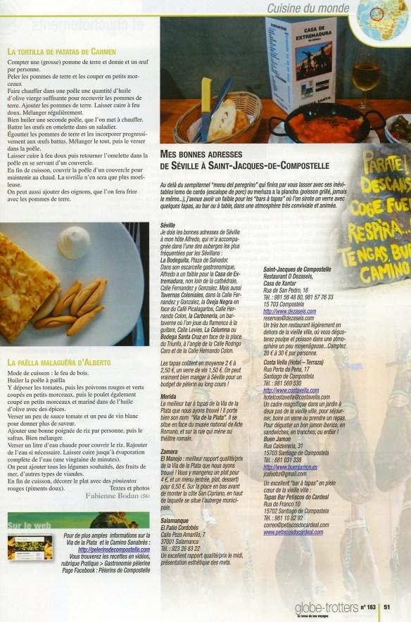 Page 51 de Globe-Trotters Magazine N°163.