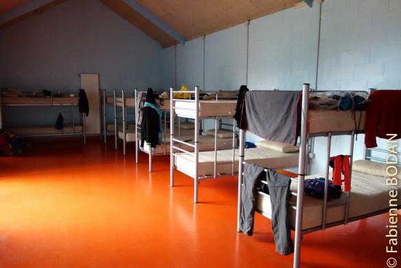 2 dortoirs spacieux de 16 lits (superposés) . © Fabienne Bodan