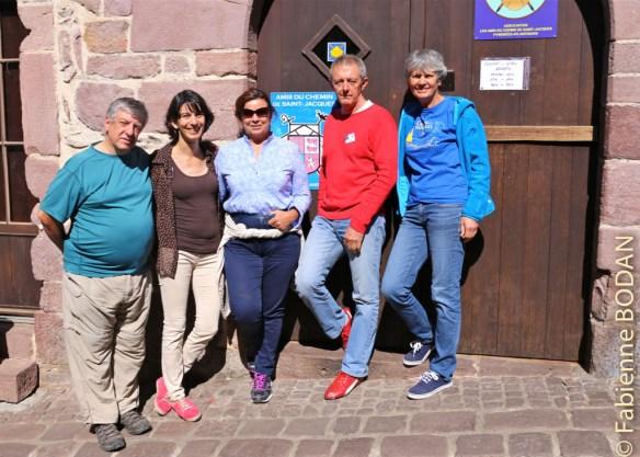 L'équipe d'accueillants de la semaine 36 de 2015 © Fabienne Bodan