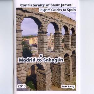 """Guide """"Madrid to Sahagun"""" de Max Long et la Confraternity Saint James, capture d'écran du site internet de la Confraternity"""