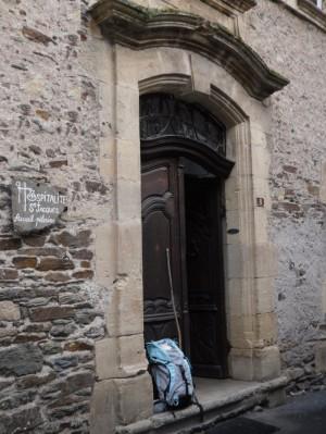 L'entrée de l'Hospitalité Saint Jacques d'Estaing © Site de l'association