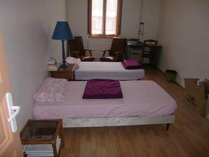 La chambre des hospitaliers du gîte de Baziège, © Site de l'Association « Les Amis des Chemins de Saint Jacques en Occitanie »
