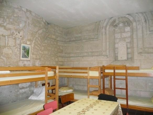 le refuge pèlerin de Saintes