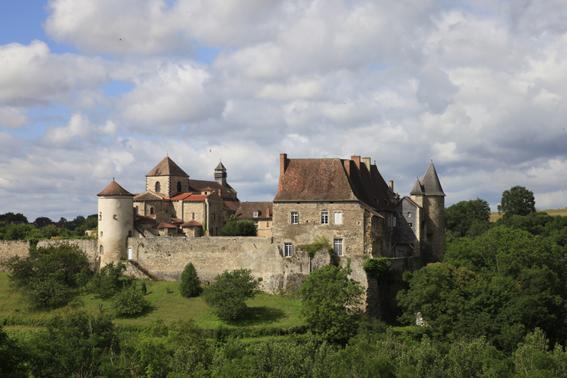 L'abbaye de Chantelle © Site http://abbaye.benedictines-chantelle.com