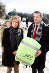 Ce couvre-sac sera gracieusement offert par le département du tourisme de la province de Galice dans une dizaine d'auberges galiciennes.