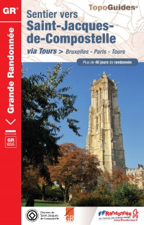 Guide de la FFRP de la voie de Tours. Source : site internet de l'association