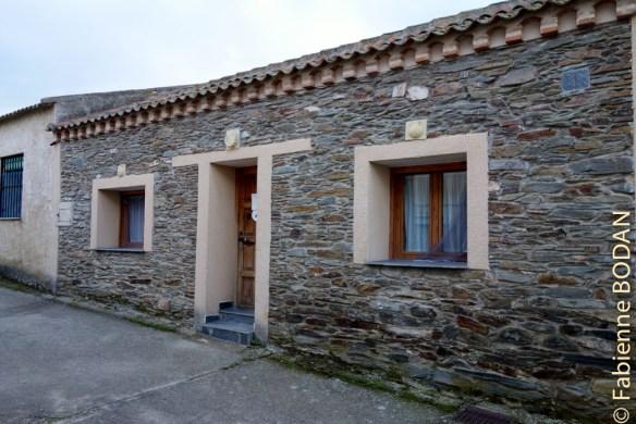 La petite auberge privée pour pèlerins de Santa Maria La Real de Nieva © Fabienne Bodan