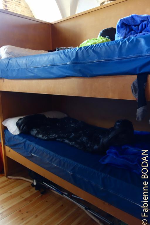 Bons lits, bons matelas dans ces compartiments qui laissent un peu d'intimité © Fabienne Bodan