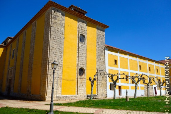 Le couvent des soeurs Clarisses de Medina de Rioseco © Fabienne Bodan
