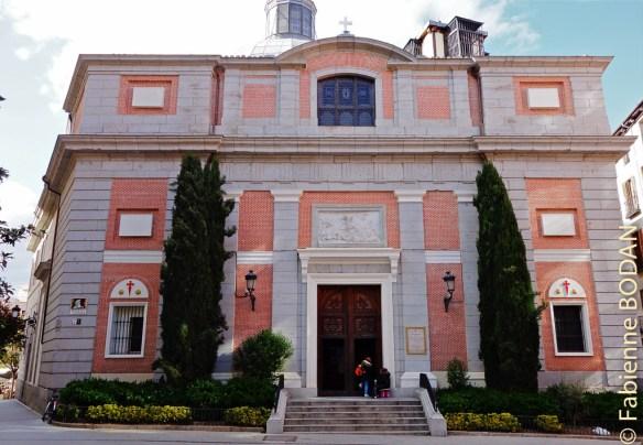 Eglise de Santiago, plaza de Santiago, non loin du Palacio Real, Madrid © Fabienne Bodan