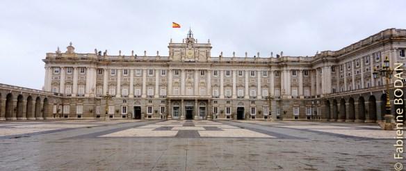 Le Palacio Real de la famille royale espagnole © Fabienne Bodan