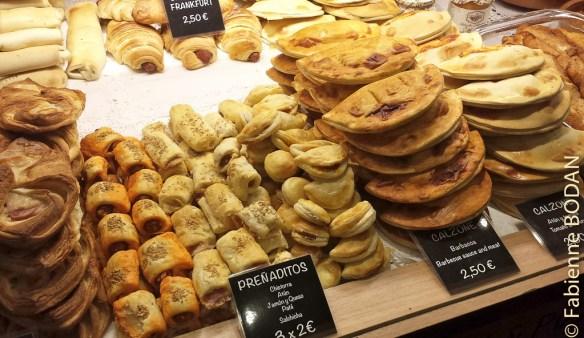 Mercado San MIguel, Madrid. Empanadas © Fabienne Bodan