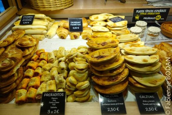 Empanadas au Mercado San Miguel, Madrid