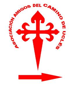 La croix de l'ordre de Santiago, emblème de Camino de Uclés et de l'association qui le gère...