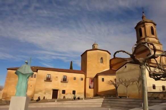 Monastère Santo Domingo de Silos (province de Burgos). © Fabienne Bodan