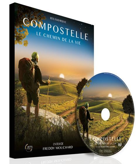 """DVD du film de Freddy Mouchard """"Compostelle, le chemin de la vie"""""""