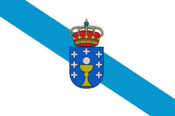 Drapeau de la Galice (Espagne)