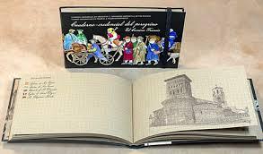 Un carnet de voyage-crédentiale pour le Camino Francés