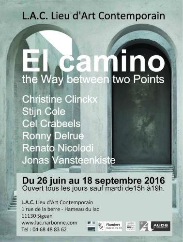 Affiche de l'exposition El Camino