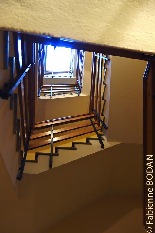 Il y a plusieurs étages, mais il n'y avait pas foule lorsque j'y suis passée. Hostal/Restaurante Gamallo à Chantada, Camino del Invierno / Chemin de l'hiver © Fabienne Bodan