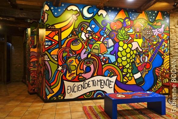 """Bar social """"La Estrategia del Caracol"""" à Santalla del Bierzo"""