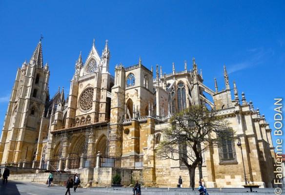 Cathédrale de Léon, Castille-Léon, Espagne