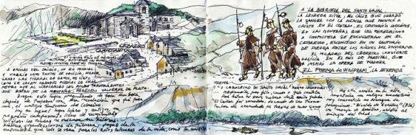 """Extrait de l'ouvrage """"El camino dibujado"""""""
