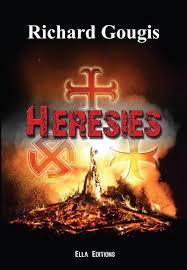 """Couverture du premier livre de Richard Gougis, """"Hérésies"""""""